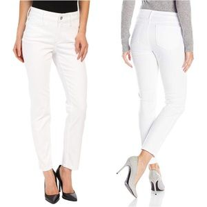 NYDJ | White 'Clarissa' Skinny Ankle Jeans